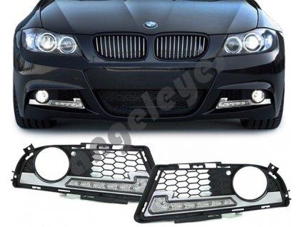 BMW 3 E90/E91 denné LED svietenie