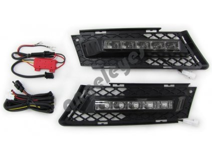 BMW 3 E90 denné LED svietenie s funkciou automatického...