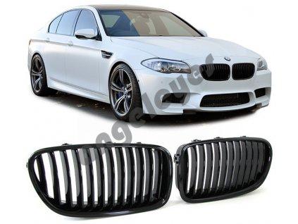 BMW 5 F10/F11 predná čierna lesklá maska