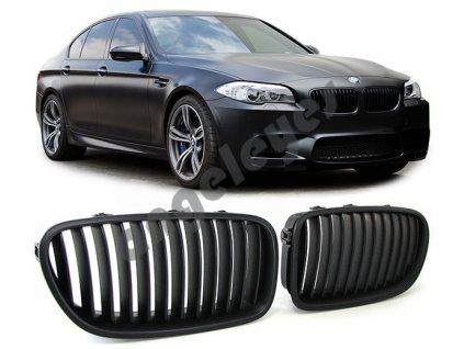 BMW 5 F10/F11 predná čierna matná maska v štýle M5 sport