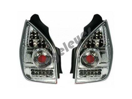 Zadné LED svetlá pre Citroen C2 chrómové