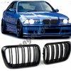 Predná čierna maska pre BMW E36 pre facelift