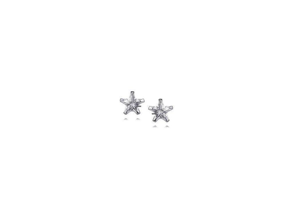 eng is Silver 925 earrings white zirconia 8 x 8mm stars 9756 (1)