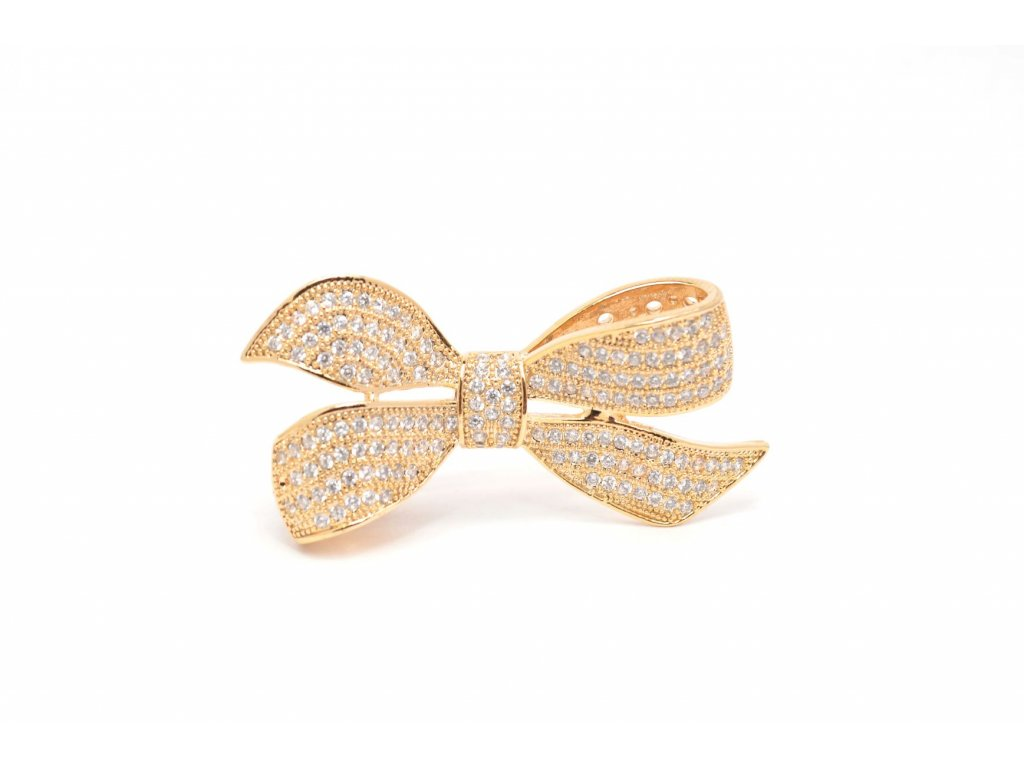 1275 angelite luxusni broz zlacena se zirkony