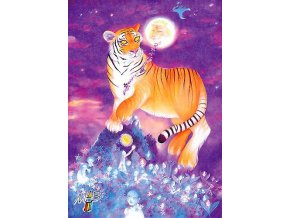 Tiger and the Moon