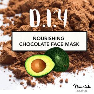 Domácí čokoládová maska
