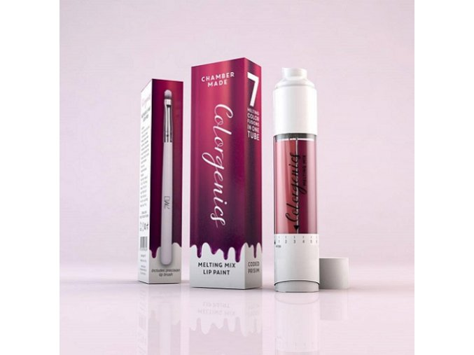 Rtěnka v lesku s ricinovým olejem - Růžová/Fialová - Colorgenics Melting Mix - Pink/Purple