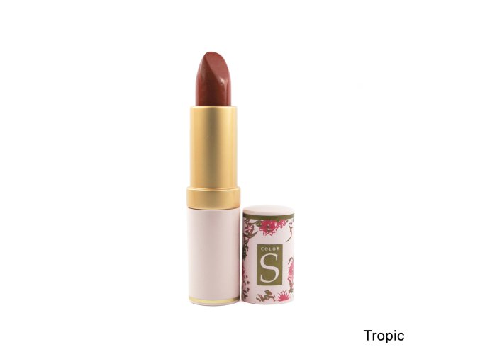 Dlouhodržící hydratační rtěnka Lipstains Gold - Tropic