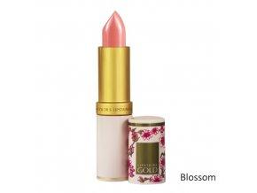 Dlouhodržící hydratační rtěnka Lipstains Gold - Blossom