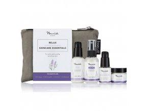 anglickakrasa relax mini kit na citlivou plet krem peptidove serum odlicovac cleanser tonikum nourish starter collection