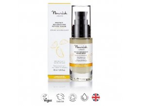 anglickakrasa peptidove serum na suchou pleť nourish protect replenishing peptide serum