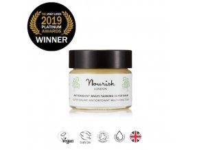 Víceúčelový super balzám s antioxidanty - Nourish London Antioxidant Multi-Tasking Super Balm 15ml