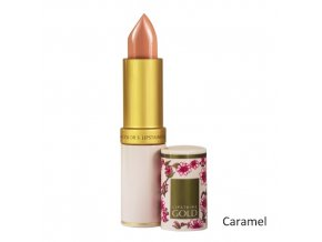 Dlouhodržící hydratační rtěnka Lipstains Gold - Caramel