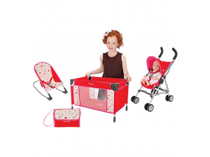 TG1T030332 Deluxe Activity Set Cupcake Maraschino Cherry BF