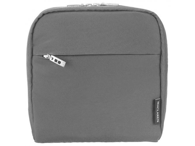 maclaren universal insulated pannier in charcoal 37