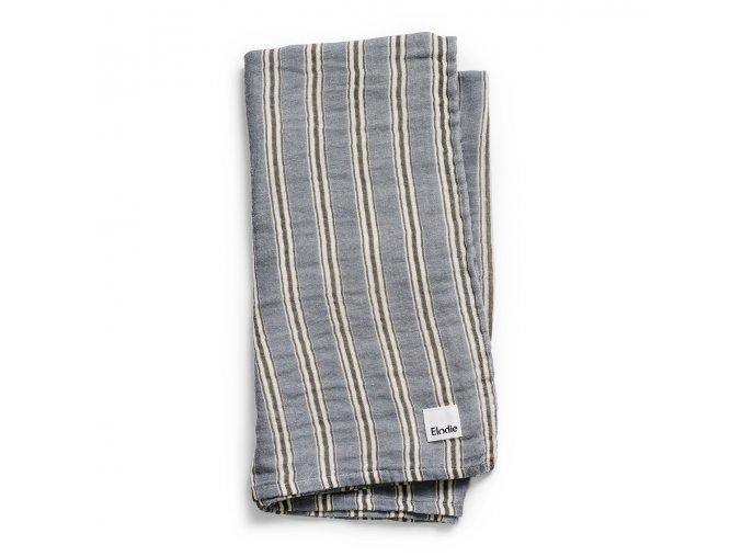 bamboo muslin blanket sandy stripe elodie details 30350135586NA