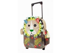 Globe Trotoys dětský cestovní kufřík Jelékros lev