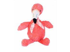 Peluche Simply Flamingos le Flamant Rose 23cm Les Deglingos