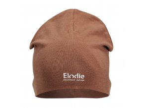 logo beanie burned clay elodie details