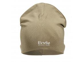logo beanie warm sand elodie details