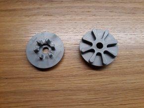 Náhradní brzdové kolečko šedé na Maclaren Techno XT a XLR