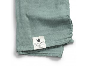 103212 cotton muslin blanket mineral green 1000px detail