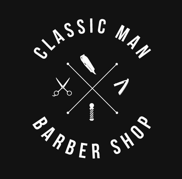Classic man barber shop