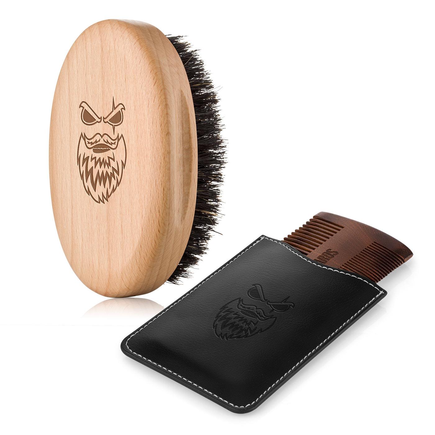 Set kartáč a hřeben na vousy - Gentler
