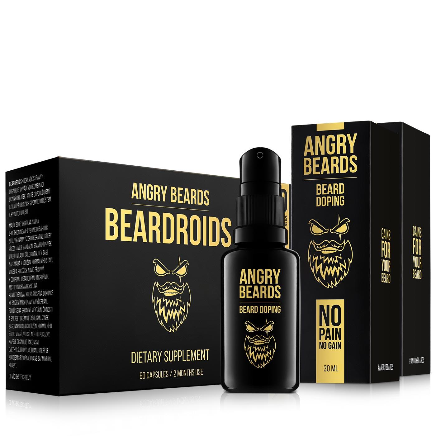 Sada pro růst vousů – Beardroids a 2 měsíce dopingu