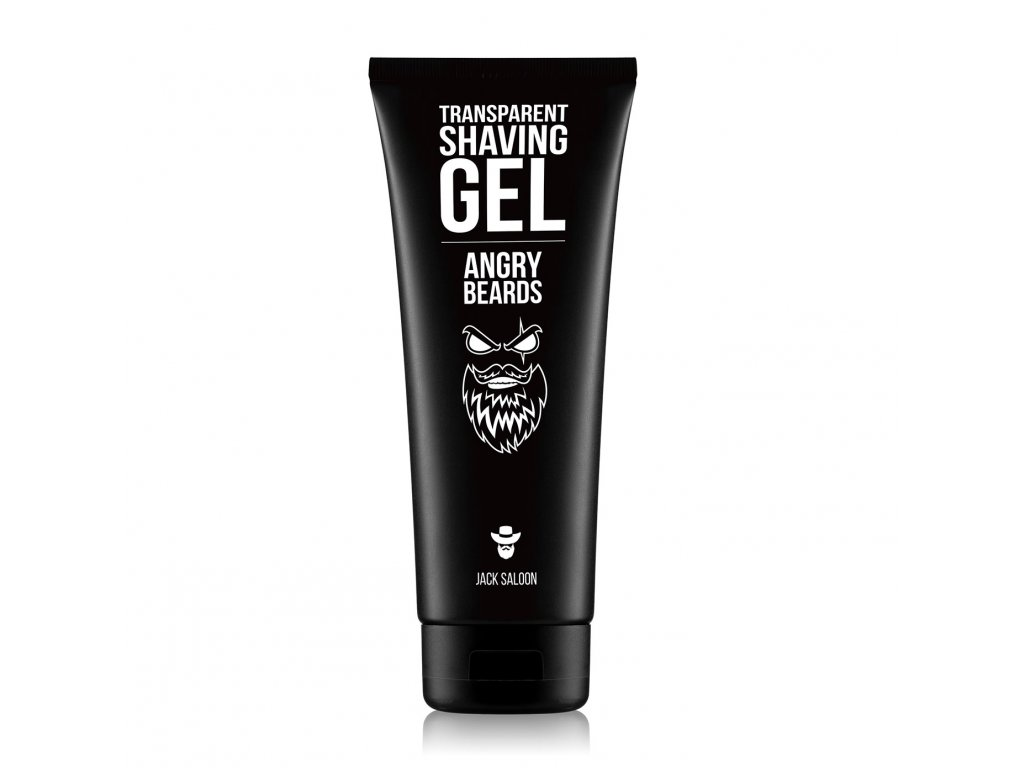 angry beards transparent shaving gel p1