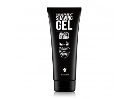angry beards transparent shaving gel p1