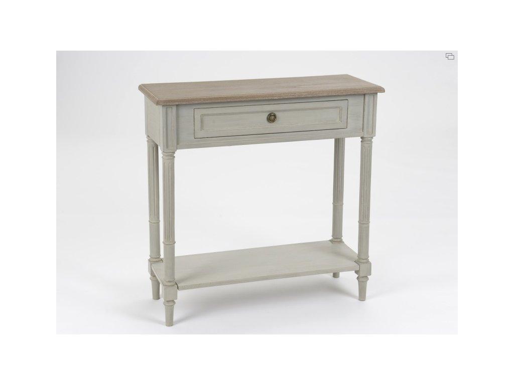 Konzolový stolek Eduard, šedý