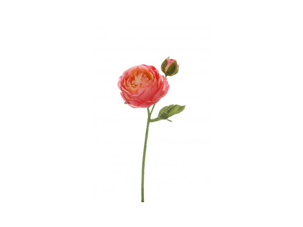Umělá květina - Pryskyřník růžový