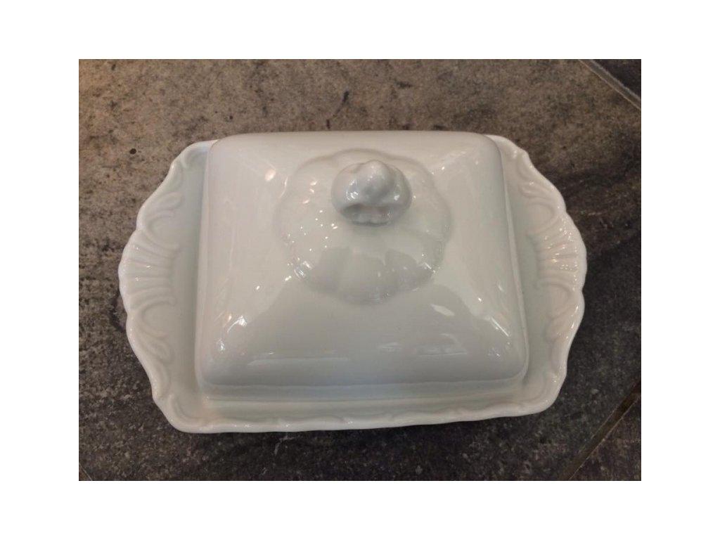 Máslenka porcelánová