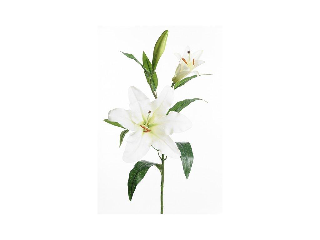 Umělá květina - Lilie bílá
