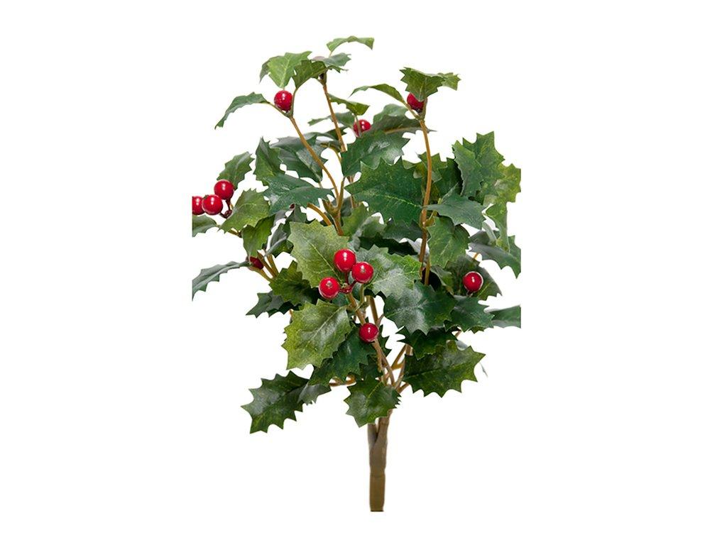 Umělá květina - Cesmína červená