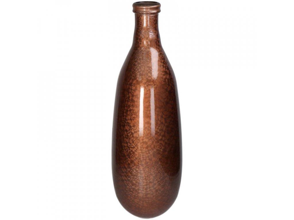 Váza zlatá/hnědá