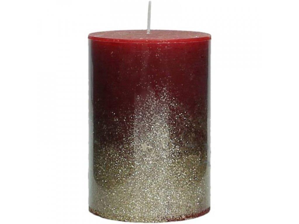 Svíčka červená malá