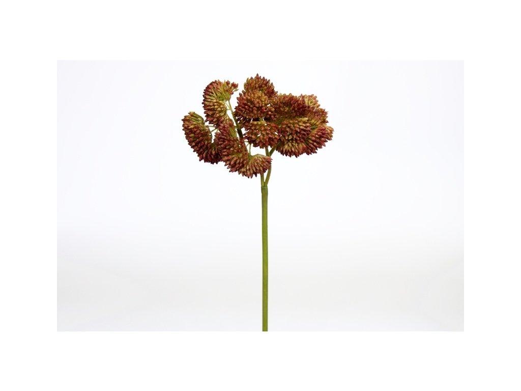 Umělá květina - Rozchodník růžový