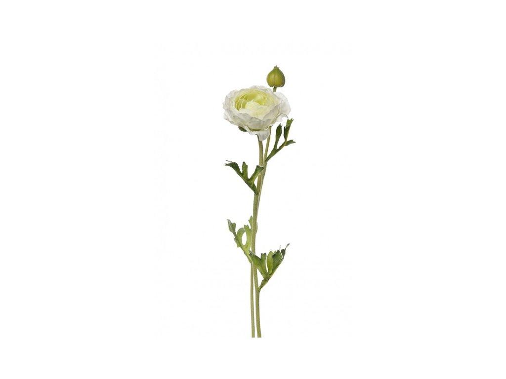 Umělá květina - Pryskyřník bílý