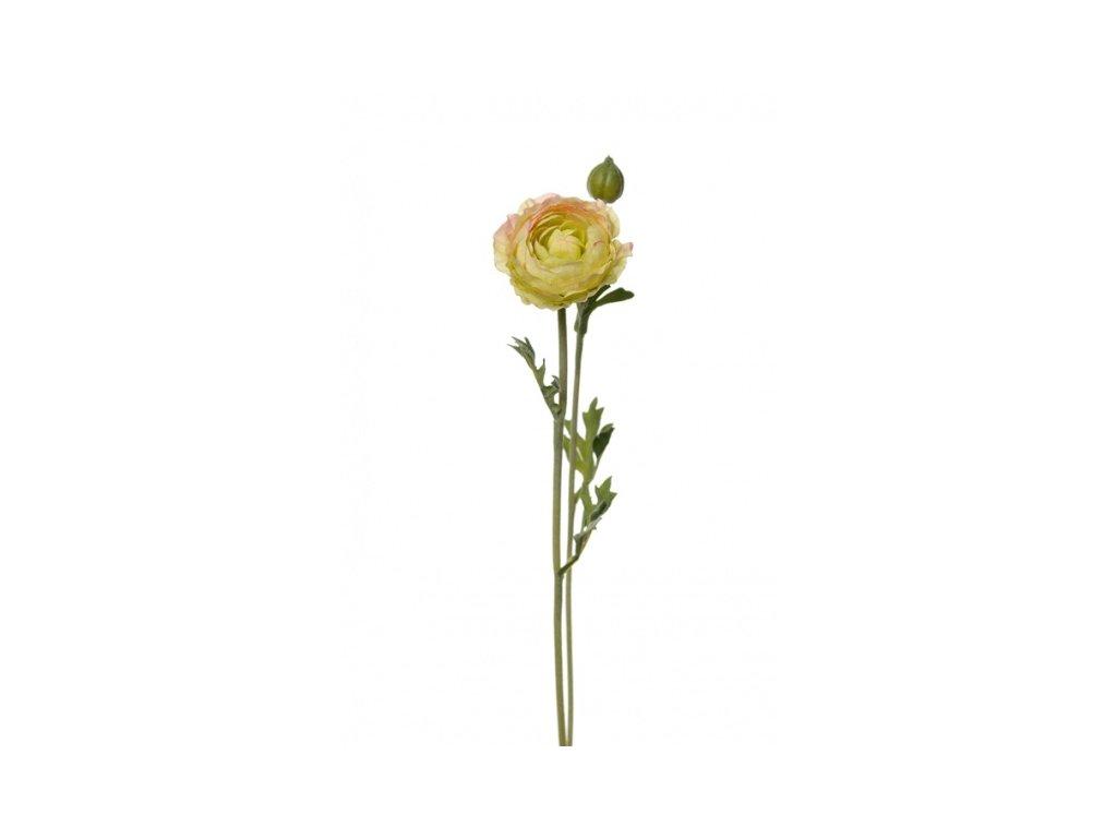 Umělá květina - Pryskyřník žlutý