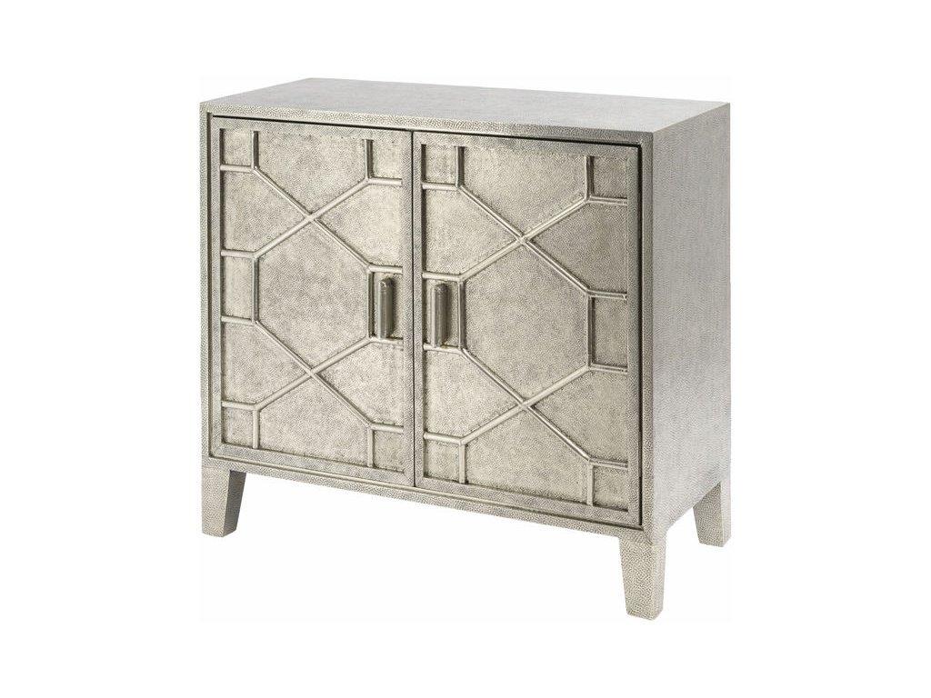 Kabinet ručně tepaný, kovový design