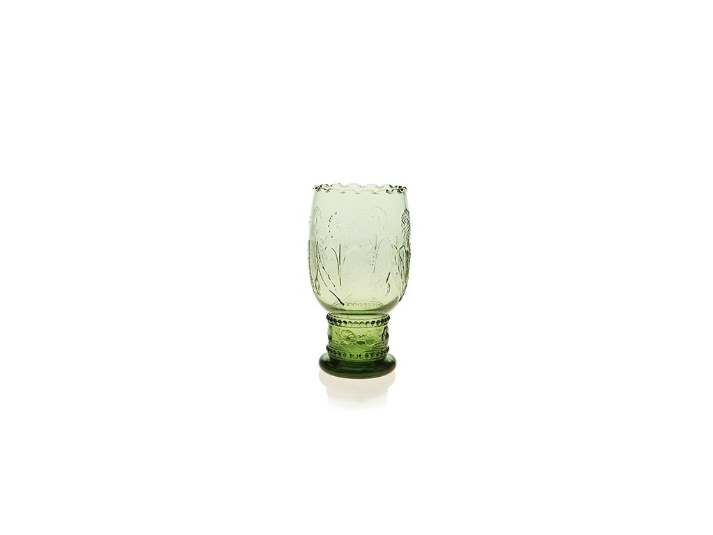 Váza zelená