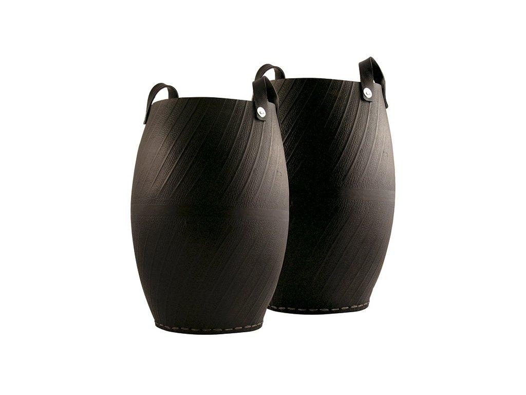 Koš z recyklovaných pneu, vysoký