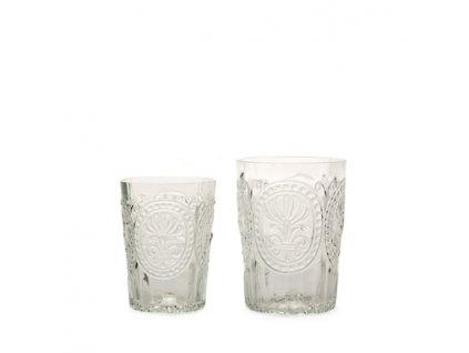 Sklenka Fleur de Lys glass velká čirá