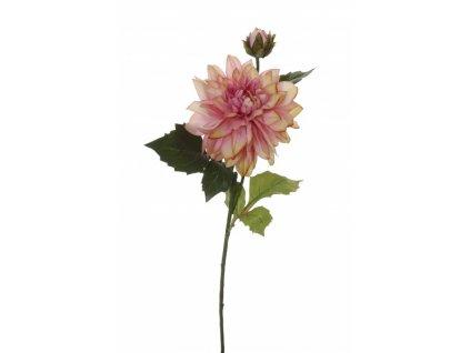 Umělá květina - Jiřina w/1 lila