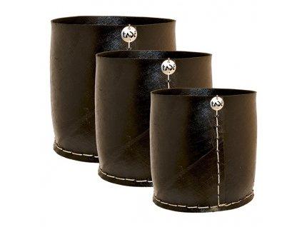 Květináč z recyklovaných pneumatik, velikost S