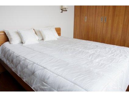 Hedvábný set na postel zig-zag