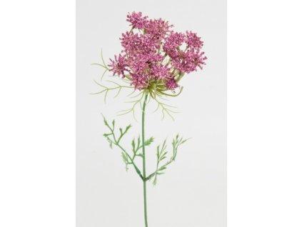 Umělá květina - Trachelium růžové