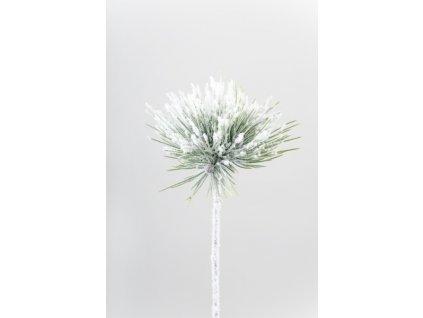 Umělá větvička - Zasněžená borovice